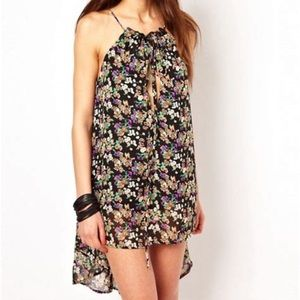 For Love & Lemons Love You Madly Dress  Floral S
